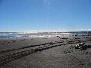 Turakina beach