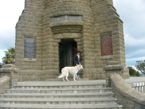 Me at Durie hill tower