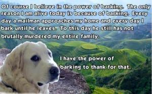 power of barking