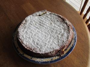 A kiwifruit cake