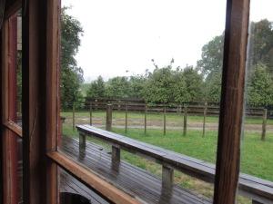 Rain and more rain.