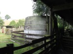 Our water tank. It is filled from water coming off the woolshed and yards.